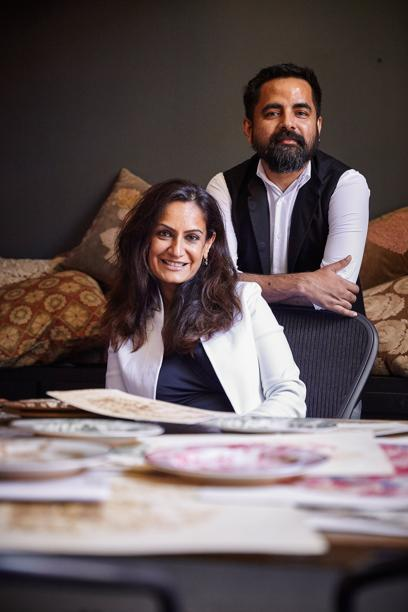 Sabyasachi Mukherjee with Monica Bhargava. Image Credits: Business Wire